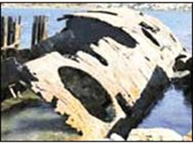 Tarihi denizaltı iskelesi!